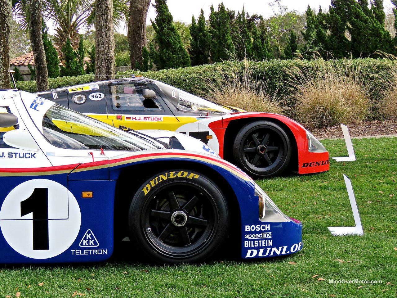 Amelia Island 2016 Porsche 962s