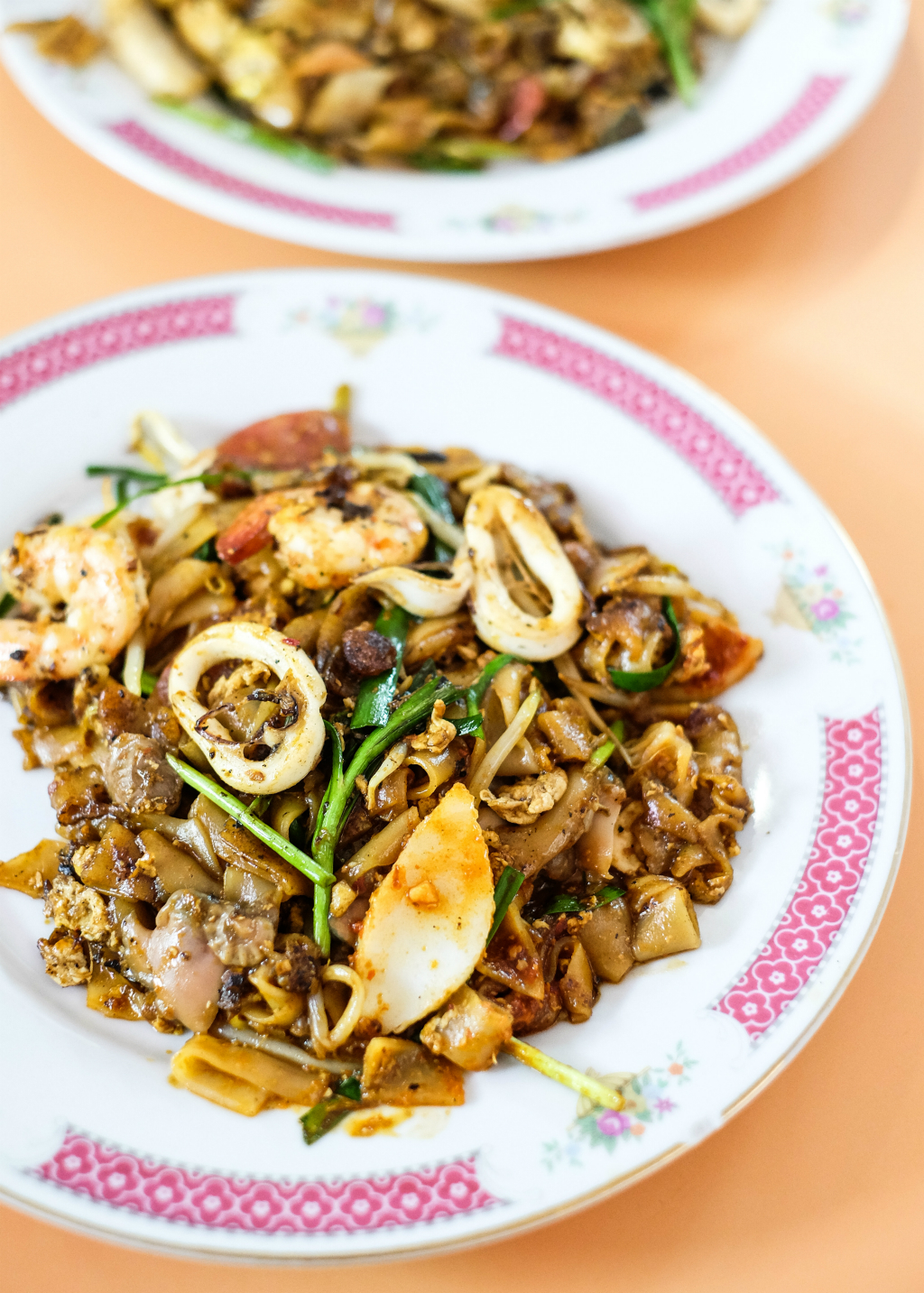 Dong Ji's Fried Kway Teow in a Plate