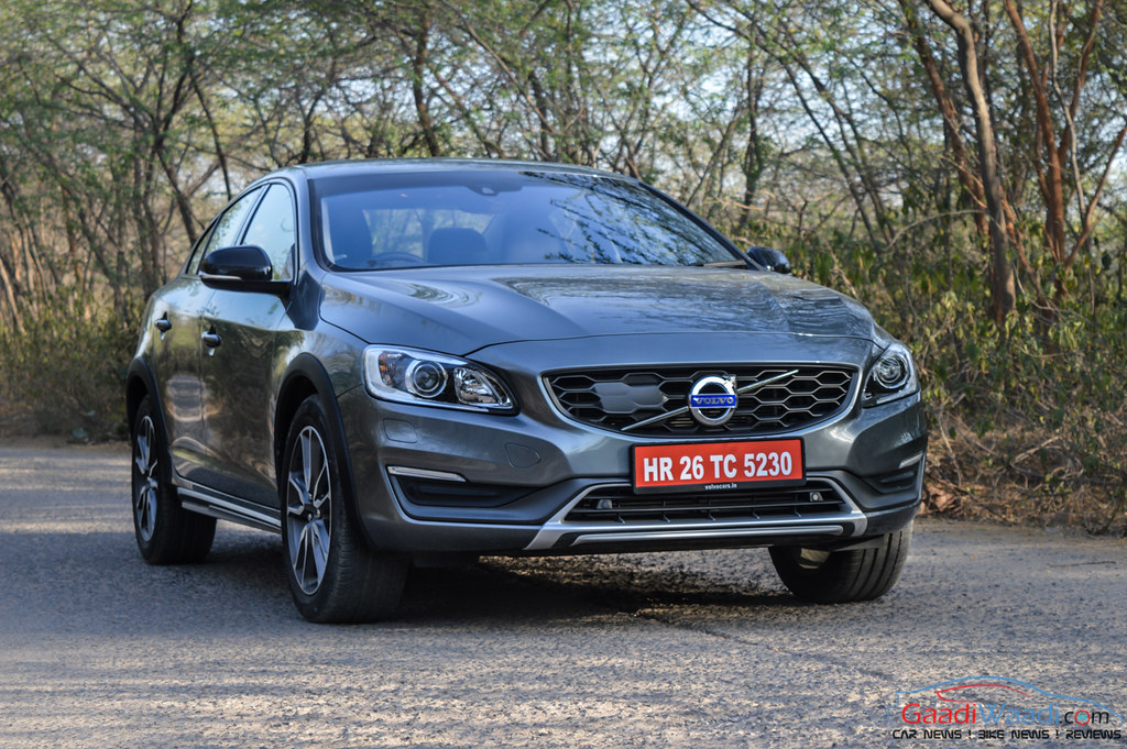 Volvo S60 Cross Country first quarter
