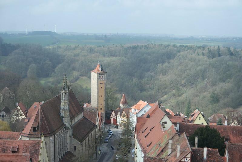 Rothenburgo desde la Torre