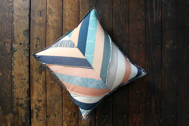 Bundle Love Herringbone Pillow