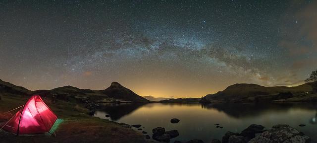 'Lakeside Stars' - Llynnau Cregennan, Snowdonia