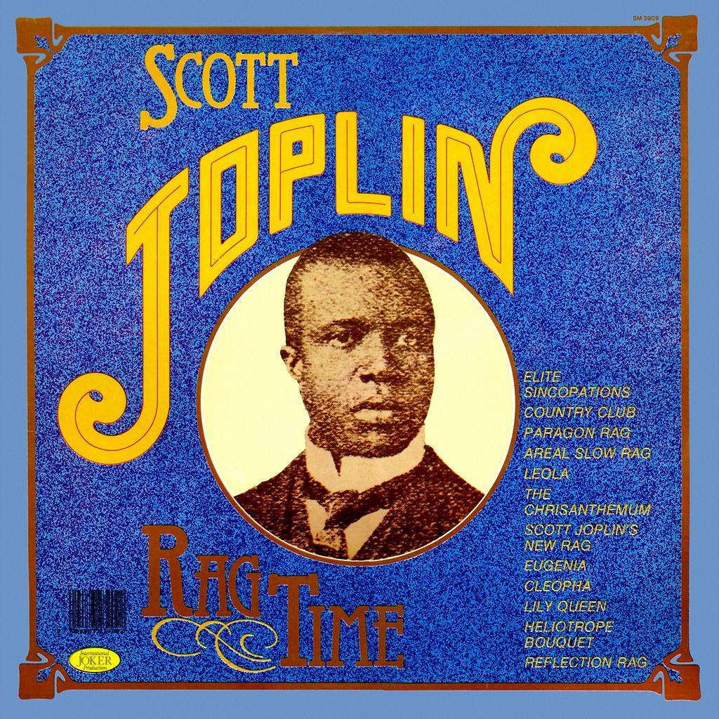 Scott Joplin Lp Cover Art
