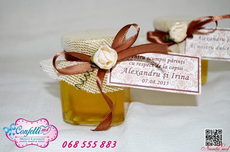 Borcănaşele cu miere - amintirea dulce de la evenimentul dvs!