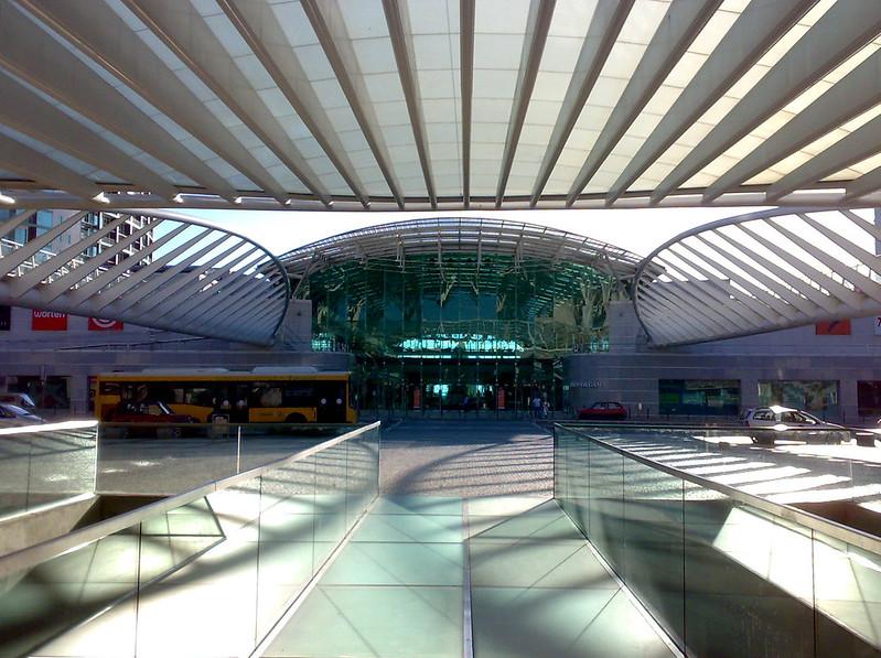 Gare do Oriente, Lisboa, Portugal