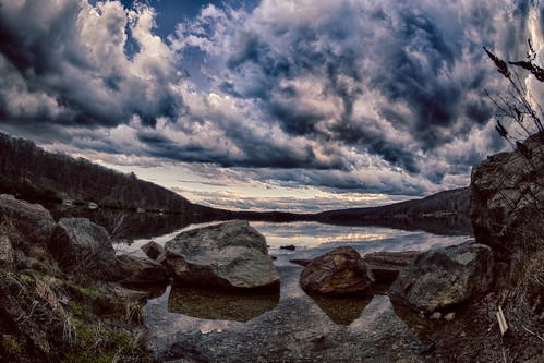city landscape harriman 2016 nature southfields newyork unitedstates us harrimanpark weather clouds hdr harrimanstatepark shore sky lake rocks outdoors fisheye