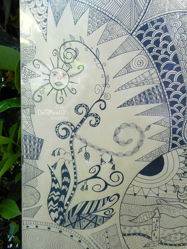 quadro zentangle 3