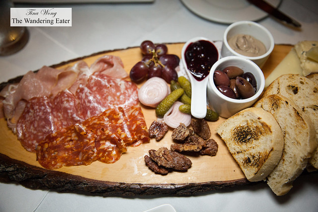 Small meat platter