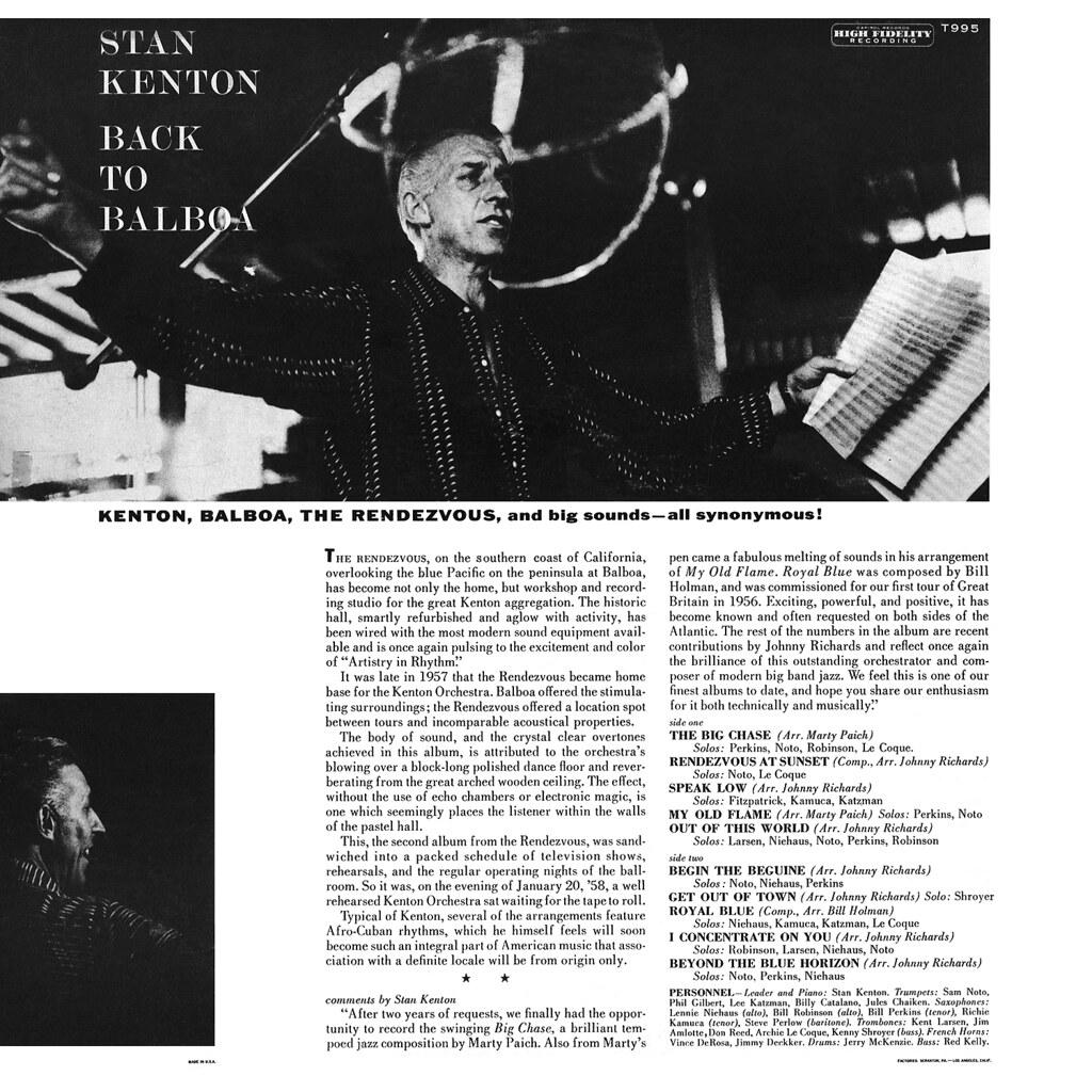 Stan Kenton - Back to Balboa