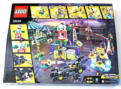 LEGO DC Superheroes 76035 Jokerland box 2