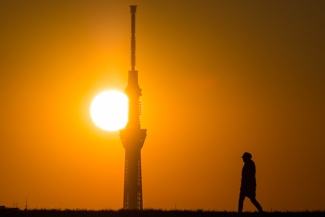 20160117_04_Sunset and Tokyo Sky Tree