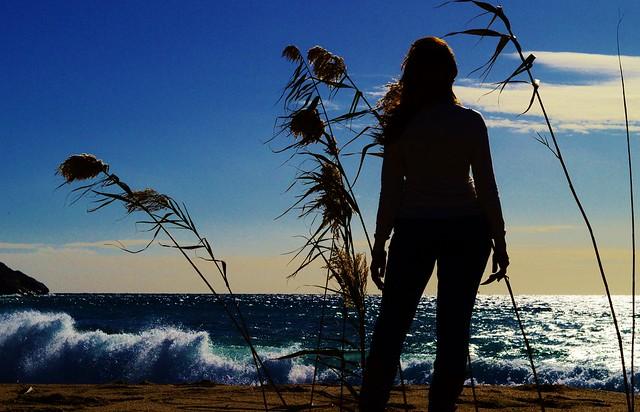 guardando il mare