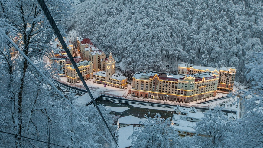 Курорты Краснодарского края в новогодние праздники приняли 342 тысячи отдыхающих
