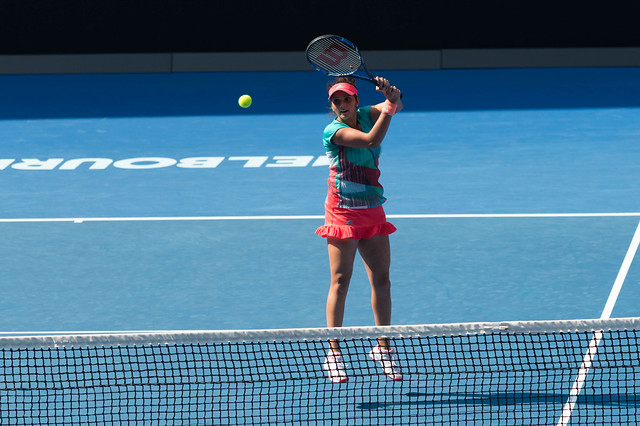 Sania Mirza at the Australian Open 2016