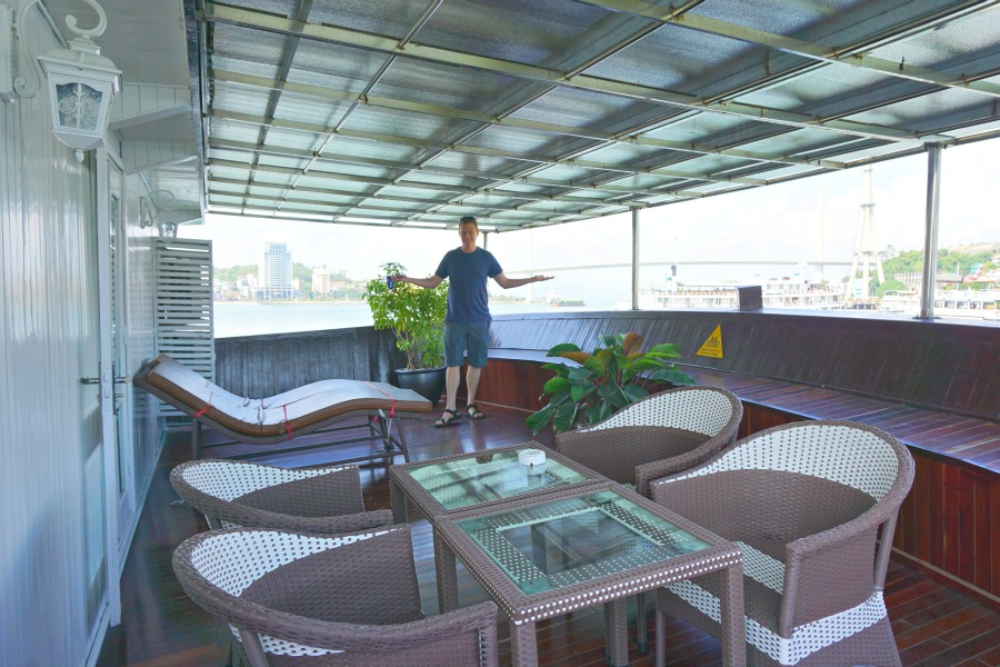 Vietnam Cruise Family Room Deck