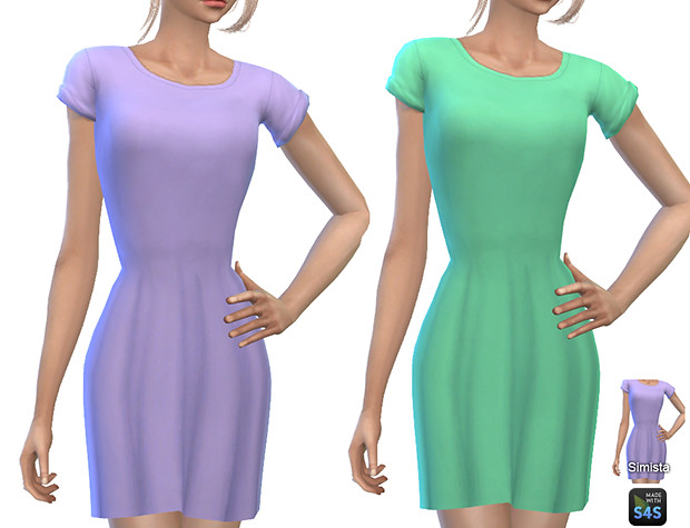 SimistaYFCasualT-ShirtDressesCollection