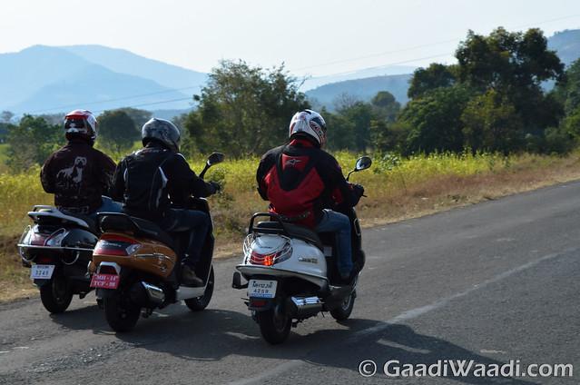 Mahindra Gusto125 vs Activa125 vs Suzuki access 125 -15