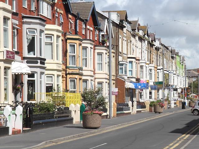 A typical Blackpool B & B street