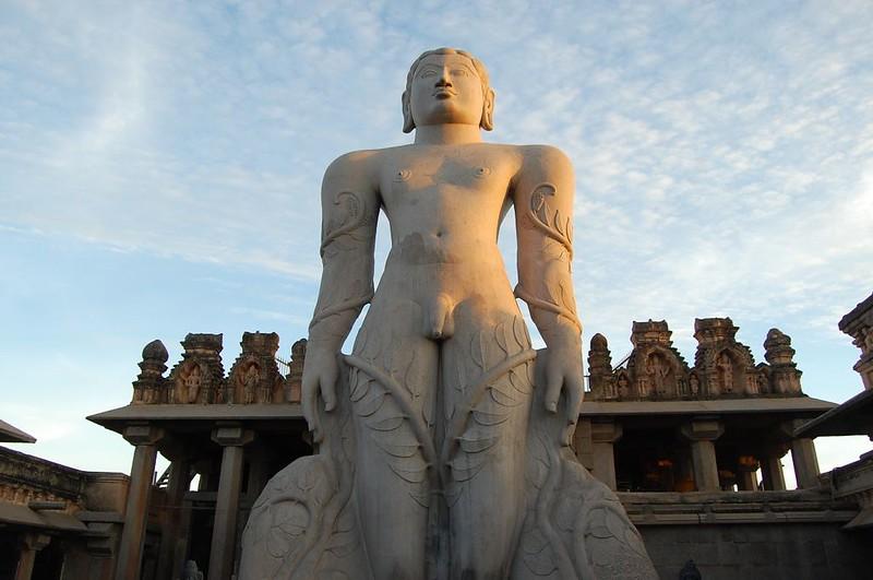 Bahubali in Shravanabelagola