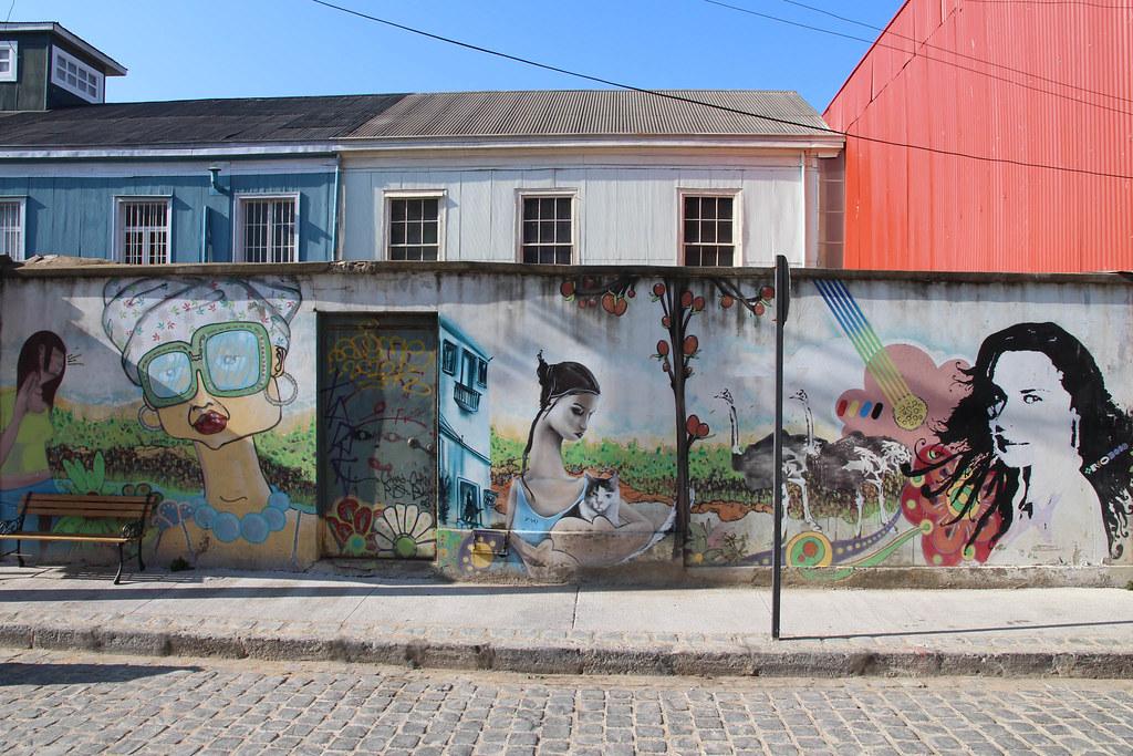 Peinture Murale Valparaiso Chili Freddy Donckels Flickr