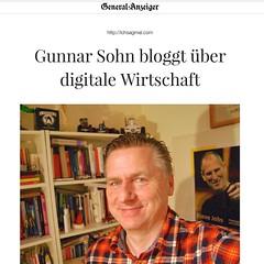 Selfie mit Steve im @gabonn http://www.general-anzeiger-bonn.de/bonn/stadt-bonn/Gunnar-Sohn-bloggt-über-digitale-Wirtschaft-article3156753.html