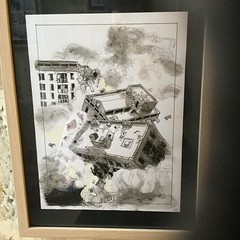 Guillaume Trouillard, Aqua Viva, original art exhibition