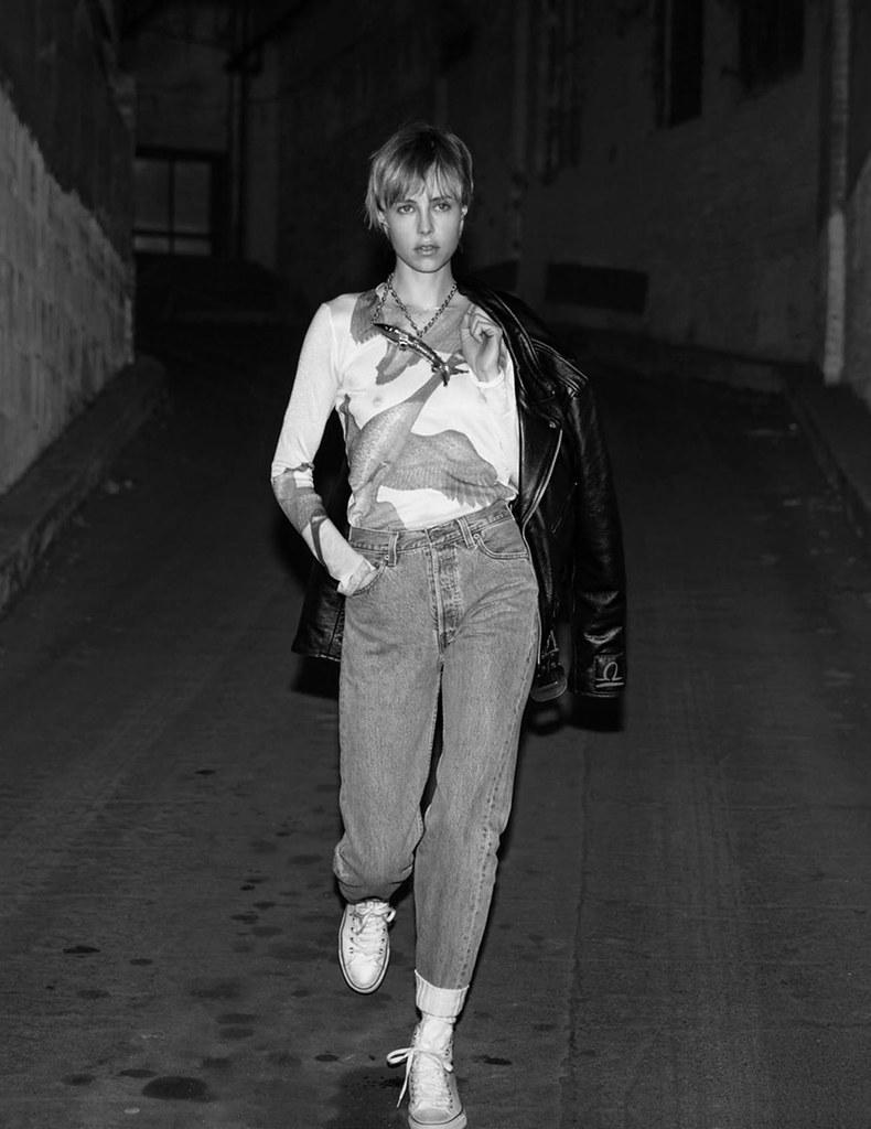 Эди Кэмпбелл — Фотосессия для «Vogue» FR 2016 – 14