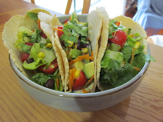 Mexican Chopped Salad Tacos