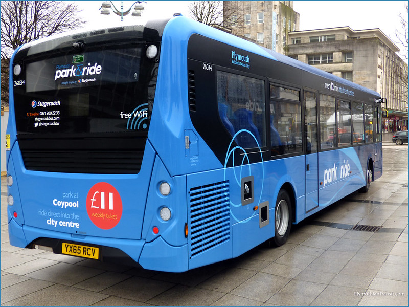 Stagecoach 26034 YX65RCV
