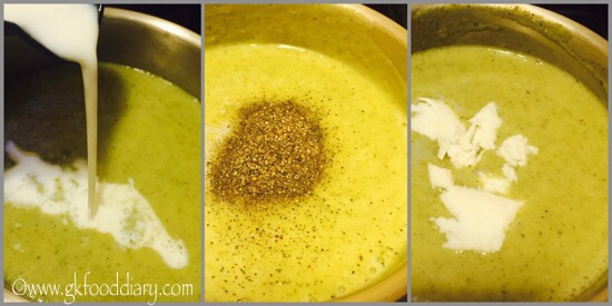 Broccoli Soup Recipe for Toddlers and Kids - step 5