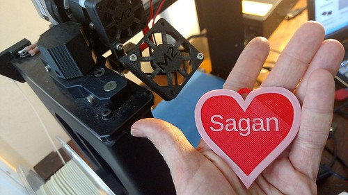 3D Printing Valentines - Sagan