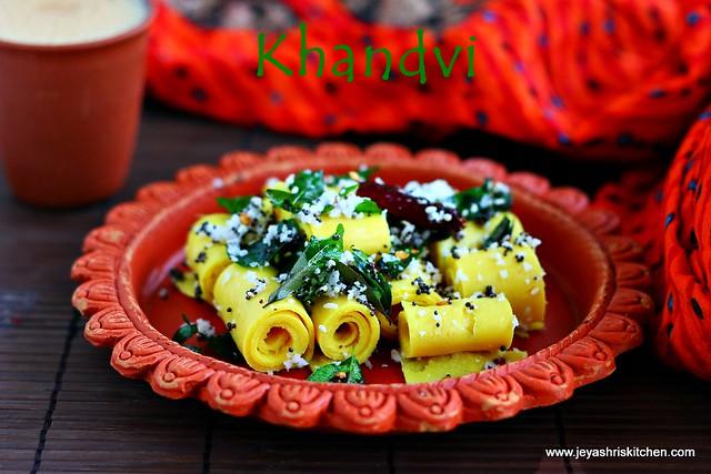 khandvi recipe