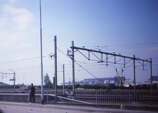 Netherlands   -   Port of Vlissingen (Flushing)   -   Cousin John L.    -    May 1989