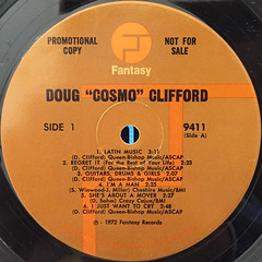 DOUG CLIFFORD:COSMO(LABEL SIDE-A)