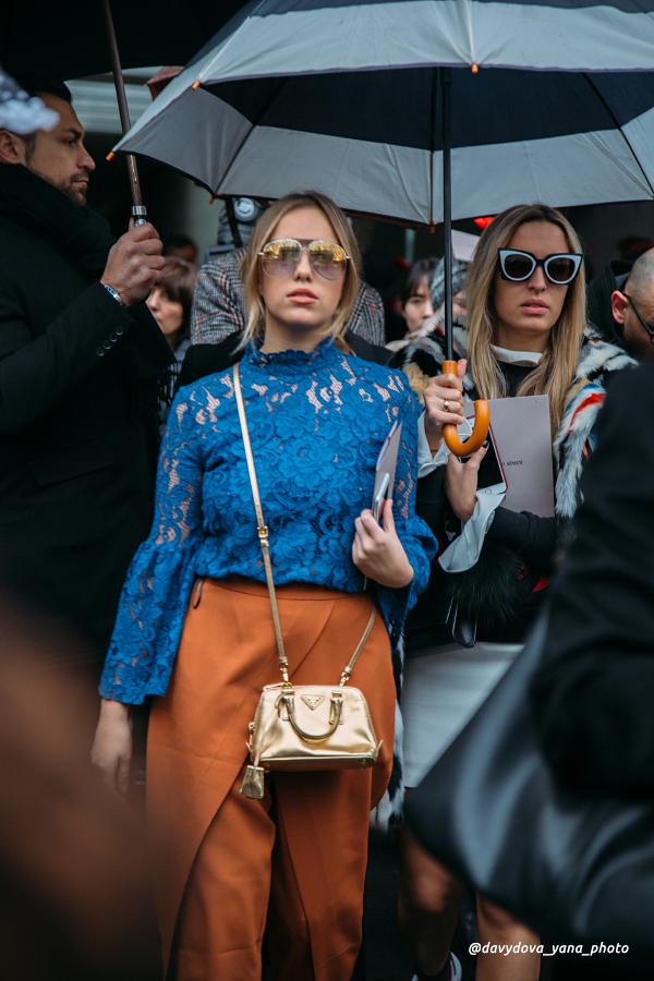 25091293380 4acfd462b2 o - Стритстайл недели моды в Милане: Гости Armani Show в объективе Яны Давыдовой