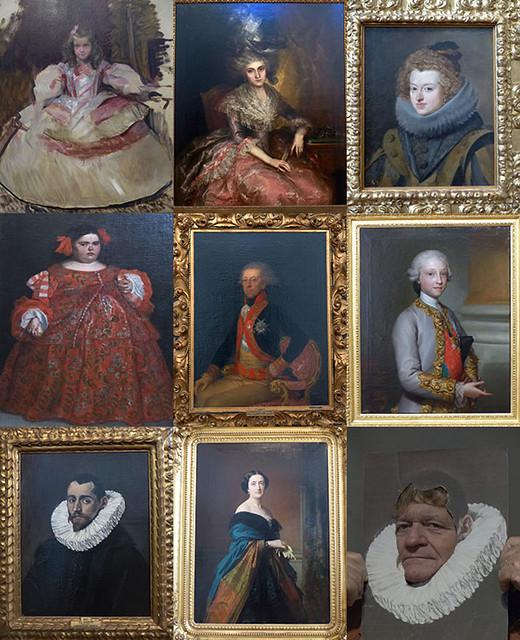 portraits royaux