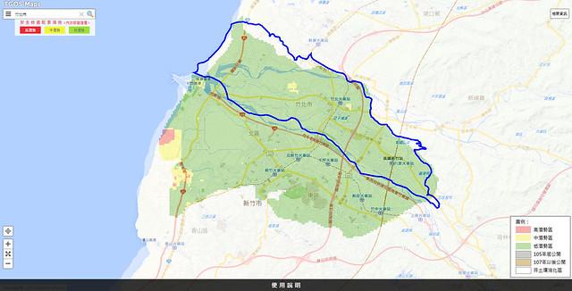 竹北 土壤液化 潛勢圖