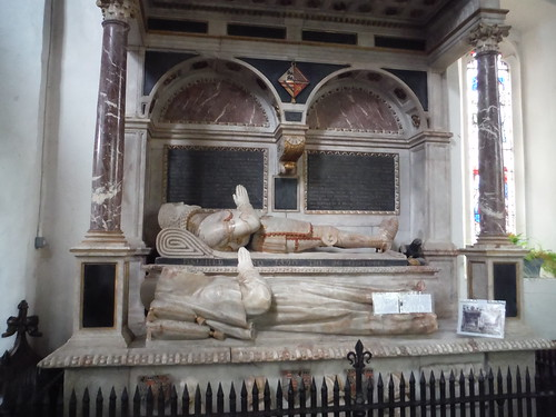 1590 Monument to Sir William Dormer, All Saints, Wing