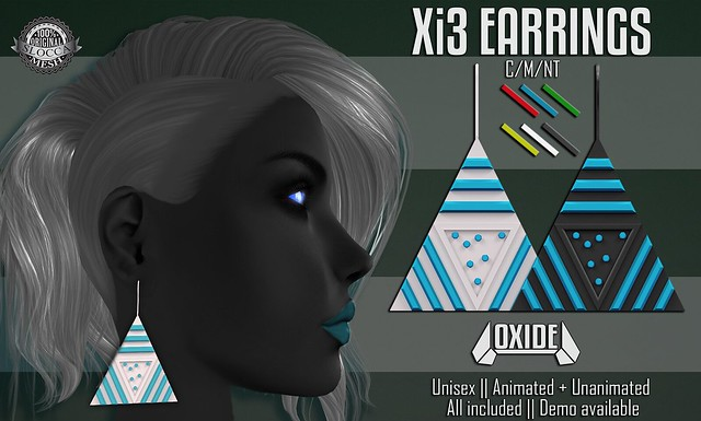 Xi3 Earrings for Multiverse