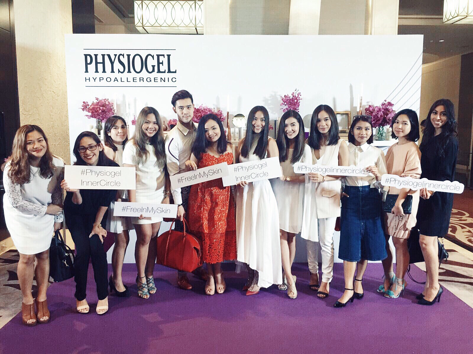 physiogel-team-philippines-bangkok-launch