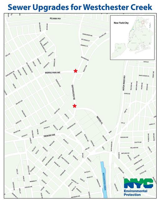 Westchester Creek Sewer Upgrades