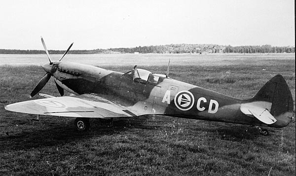Royal Norwegian Air Force, Spitfire