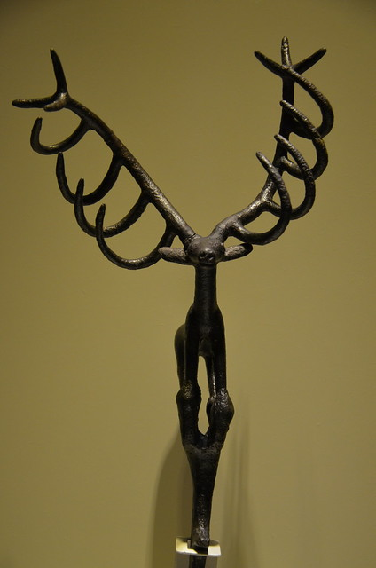 Stag statuette, symbol of a Hittite male god, Museum of Anatolian Civilizations, Ankara