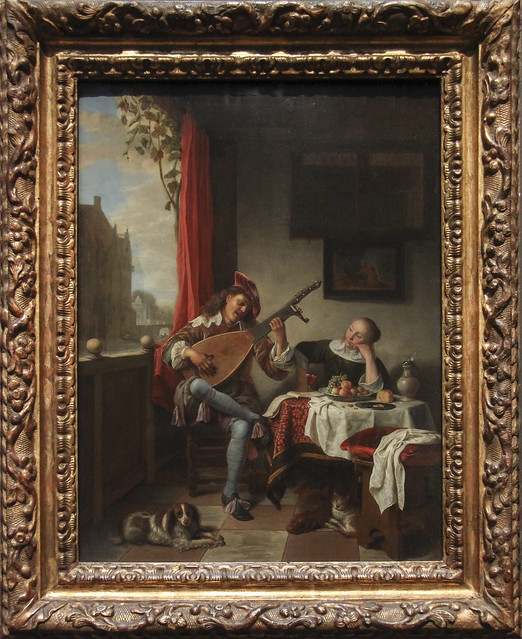 The Lutenist, Hendrick Martensz Sorgh, 1661