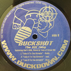 BUCKSHOT:ROCK WITH ME(LABEL SIDE-B)