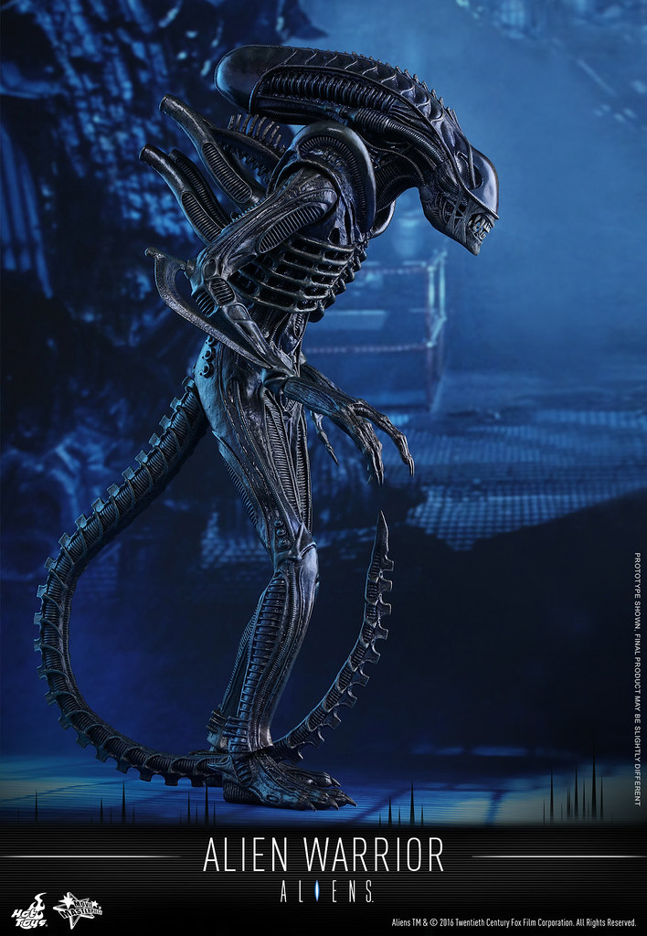 Hot Toys – MMS354 – 異形2【異形戰士】Alien Warrior 1/6 比例人偶作品