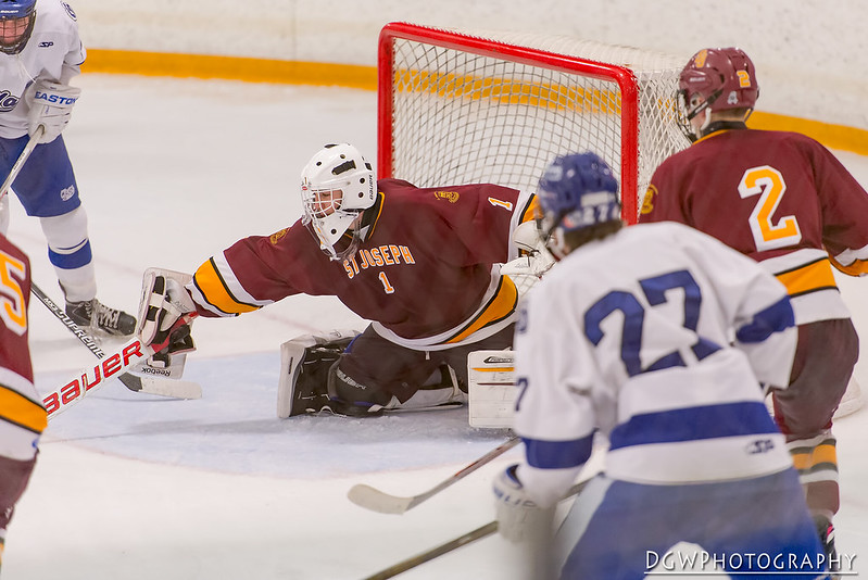 St. Joseph vs. Darien - High School Hockey