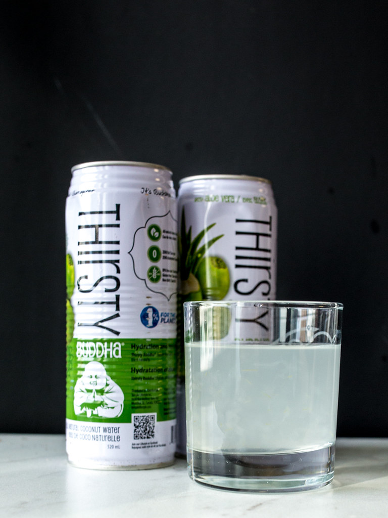 Thirsty Buddha Coconut Water with Aloe Review