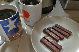 Everyday Coffee in the City - Peet's Coffee Arabian Mocha Java Kit Kat
