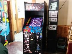 Vintage Pac man and Galaga game